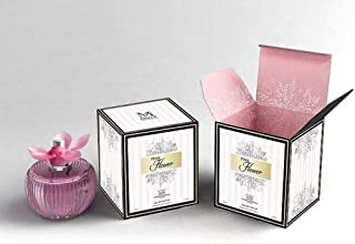 Pink Flower Perfume for Women, EDP, 3.4 oz, With A NovoGlow Suede Pouch Included