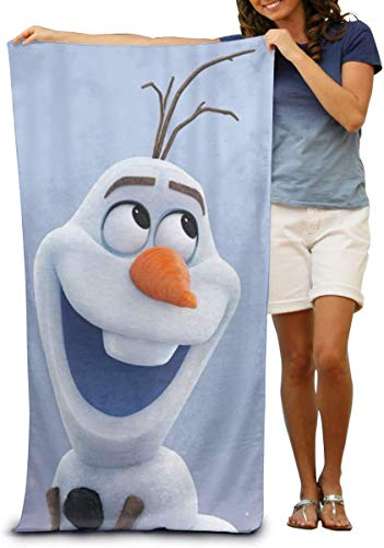 DCVFB Absorbent Quick Dry Cotton Frozen Olaf Toalla de Playa