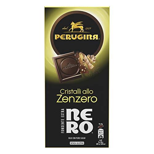 Perugina Nero Fondente Extra Zenzero Tavoletta di Cioccolato Fondente con Zenzero, 85 g