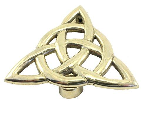 Brass Trinity Knot Door Knocker