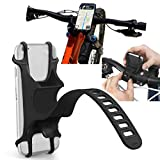 Bike Mount Phone Holder Bicycle Motorcycle Stroller ATV MTB Golf Cart Handlebar For Samsung Galaxy S10 Plus, S10e, S9 Plus,S9, Note 20, Note 10 9 8, S8,S8 Plus,J7 Sky PRO, A11,A10e,A20,A21,A50,A51,A71