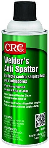CRC Water Based Welder's Anti Spatter Spray Coating, 14 oz Aerosol Can, Milky White,3083