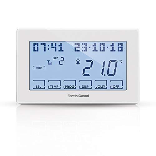 Fantini Cosmi Intellicomfort CH180WIFI Cronotermostato settimanale touch-screen, con connessione WiFi per controllo da remoto 230V