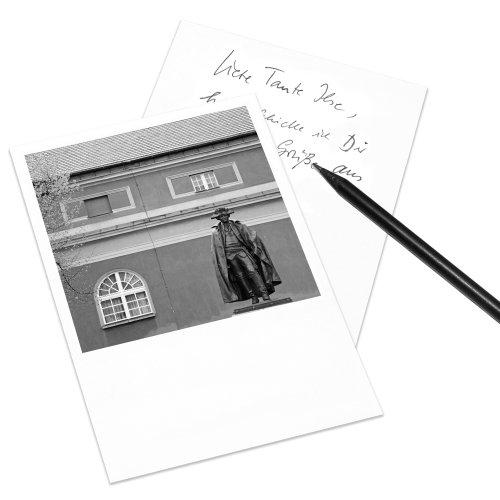 COGNOSCO Postkarte Potsdam im Polaroid-Look - Motiv: Steuben-Denkmal