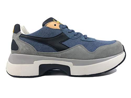 Diadora N9000 TXS H Stone Wash Sneaker Uomo Blu Navy, 43