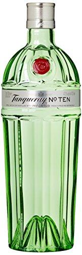 Tanqueray No. Ten Distilled Gin – Ideale Spirituose für Cocktails, Gin Tonic oder als Geschenk – (1 x 1 L)