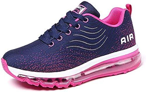 MIMIYAYA Unisex Herren Damen Sportschuhe Laufschuhe Bequeme Air Laufschuhe Schnürer Running schuhe Mode und Freizeit 35-44EU