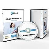 Dauerlizenz Windows 10 Professional - 64bit ISO DVD inklusive Lizenzunterlagen & Lizenzkey – DVD Box Windows-10-Pro mit Lizenz – Alle Updates Inklusive, Ideal für Privat und Unternehmen