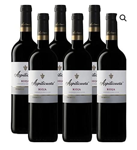 AZPILICUETA crianza - Rioja - Caja con 6 botellas de 75 cl. - Envío GRATIS