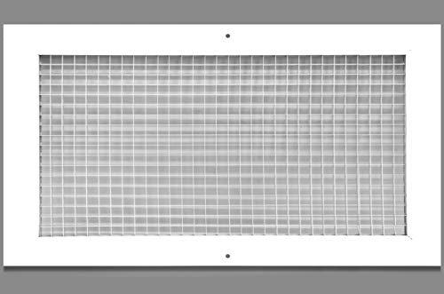 Rejilla de aire de retorno de caja de huevo de 28 pulgadas x 34 pulgadas, a prueba de óxido de aluminio, cubierta de conducto de...