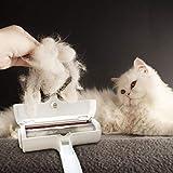 Pet Hair Fur Lint Remover Roller & Bonus Free Dog or Cat Grooming