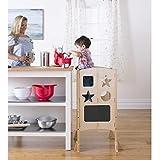 Guidecraft G97325 - 'Kitchen Helper' Supporto di sicurezza per bambini in legno di betulla naturale