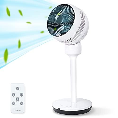[アドアプス通販] 扇風機 サーキュレーター 2way 4段階風量調節 ACモーター AC扇風機 リビング扇風機 リモコン 静音 おしゃれ 首振り 空気清浄 首振り タイマー 北欧風 [xr-st70]