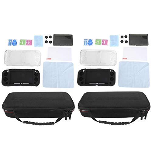BOLORAMO Bolsa de Consola de Juegos portátil, Bolsa de Almacenamiento Segura para máquina de Juegos para Regalo para la máquina de Juegos portátil Nintendo NS