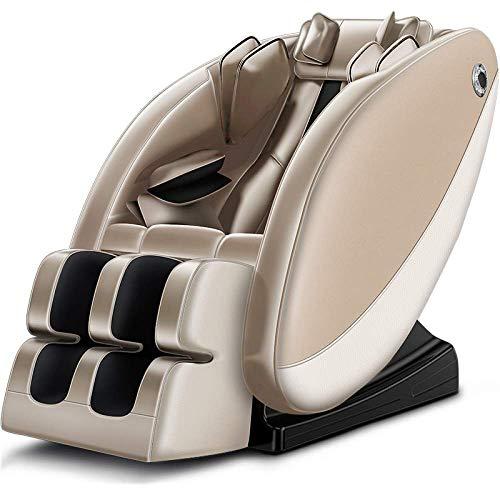 ytrew Superior Massagesessel, 3D Shiatsu Ruhesessel, Ganzer Körper Massagesofa Elektrisch Halswirbel Lendenwirbelsäule Multifunktional Massagesessel Sofa, Zero Gravity für Hause Büro
