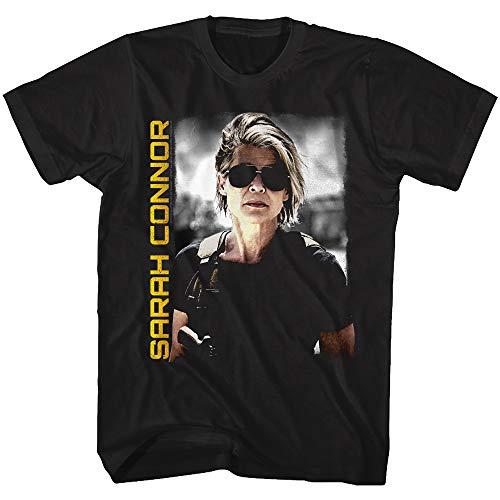 Official Terminator Dark Fate Sarah Connor T-shirt, S to 5XL