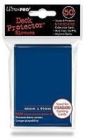 Ultra Pro Card Supplies Deck Protector Metallic Blue Standard Card Sleeves [50 ct]