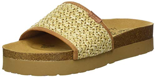 Pepe Jeans London Damen OBAN Ethnic Pantoletten, Gold (Cast 88), 40 EU