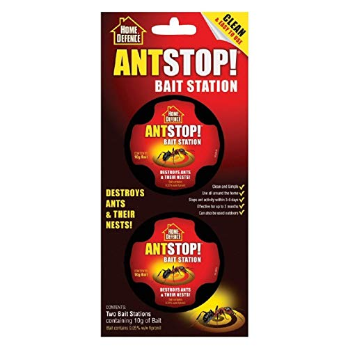 4 x Ant Stop! Bait Station Home Defence Ant Stopper (8 Baits)