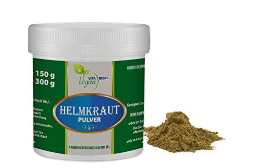 VITAIDEAL VEGAN® Helmkraut Pulver (Scutellaria lateriflora) 300g inklusive Messlöffel, rein natürlich ohne Zusatzstoffe.