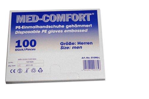 AMPRI Einweghandschuh, Dieselhandschuhe transparent L