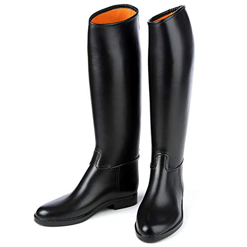 Ovation Derby/Cottage - Men's Lined Rubber Riding Boot 9 Reg Black