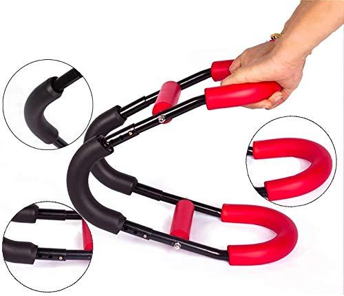 KJRJDD Mini energía Twister Entrenamiento de la Fuerza Ajustable Dispositivo Brazo Máquinas de la Barra del Resorte del Brazo Gimnasio Fuerza Volver Muscular músculo del Pecho Equipo de Entrenamiento