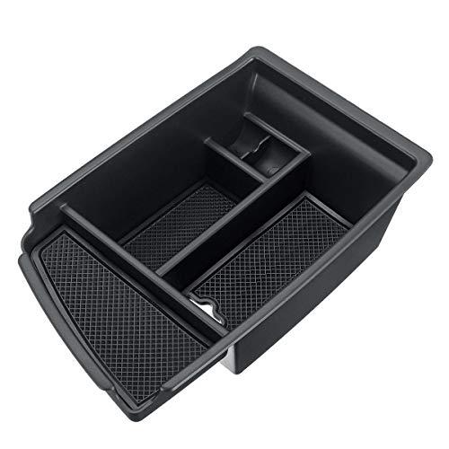 EBXH Caja Central del apoyabrazos, para KIA Niro 2018 2019 W/MATS Stowage Clean Up Caja de Almacenamiento Titular de la Bandeja de la Bandeja Black Car Coche Interior