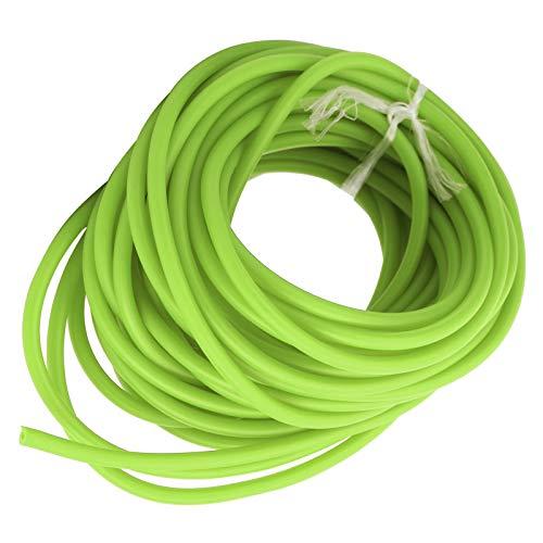 DAUERHAFT Tubo in Lattice di Lattice Naturale 10 m, Accessorio catapulta, Adatto per competizioni Sportive(Green)