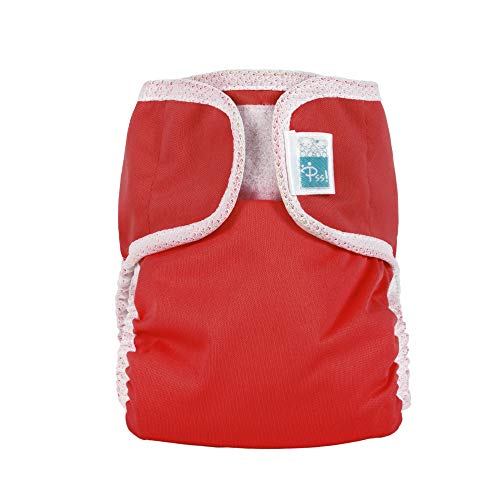 PSS! BASIC - Culotte Couvre-Couche Colorée Rouge 9-16 Kg - Made In Italy
