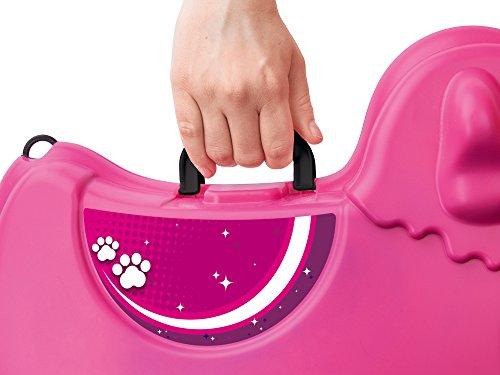 BIG 800055353 - Bobby-Trolley, Kinderkoffer, Kindergepäck, rosa - 3