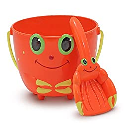 Image: Melissa and Doug Sunny Patch Clicker Crab Pail and Shovel