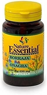Borraja + Onagra 50 perlas de 500 mg de Nature Essential