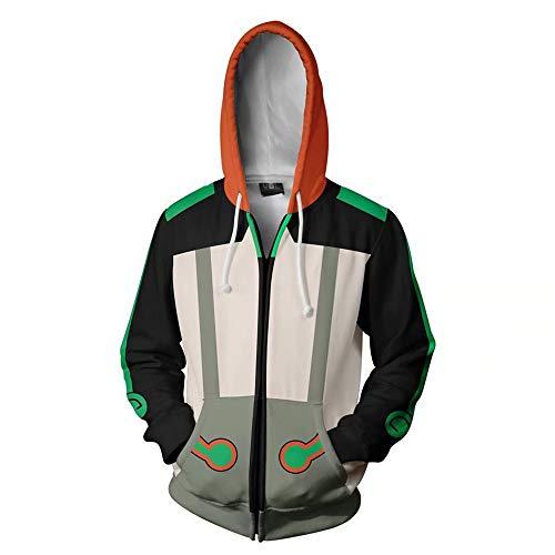 RWBY Hoodie Ruby Rose Weiss Schnee Blake Belladonna Yang Xiao Long 3D Cosplay Zip Up Pullover Sweatshirt Cardigan Jacket
