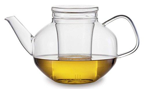 Jenaer Glas Relax Teekanne, Glas, transparent, 1,4 L