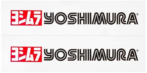 ヨシムラ プリンタックステッカーset 赤/黒(2pcs) YOSHIMURA 904-091-2000