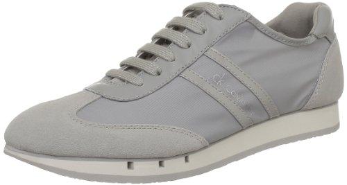 CK Calving Klein Monty Nylon/Suede - Zapatos con Cordones de Material sintético Hombre, Color Gris, Talla 44