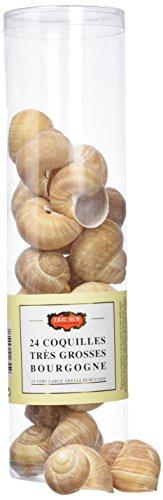ERIC BUR 24 Coquilles Très Grosses d'Escargots de Bourgogne 120 g - Lot de 3