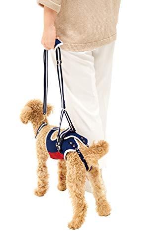 With(ウィズ)歩行補助ハーネスLaLaWalk小型犬・ダックス用ロイヤルスクールLサイズ