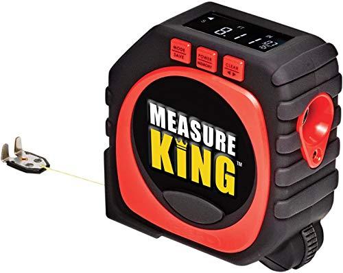 Hangbought Measure 1 Pcs Measure King 3-in-1 Digital Tape Measure String Mode,Roller Mode & Sonic Mode