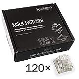 Glorious PC Gaming Race Kailh Box White Switches für GMMK Tastaturen - 120 Stück