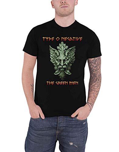 Type O Negative T Shirt The Verde Men Band Logo Nuovo Ufficiale Uomo Size L