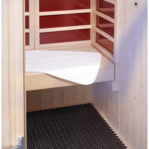 eliga Sitztuch 50 x 40 cm für Sauna und Dampfbad