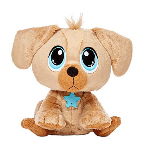 little tikes Rescue Tales Mascotas en Adopción Golden Retriever-Juguete Interactivo, Tierno, De Felpa, con Movimiento y Sonidos-Incluye Caseta, Collar, Placa y Más-Coleccionable-3+ Años (655258E5C)