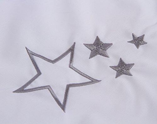 Moses mand en witte rokken, standaard My Little Star wit Palm