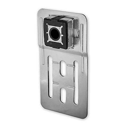 Geräuschdämmendes Fertigkasten - Gleitlager, Rolladen - Lager für Achsstift 12 mm, Verstellbereich 12 mm, von EVEROXX