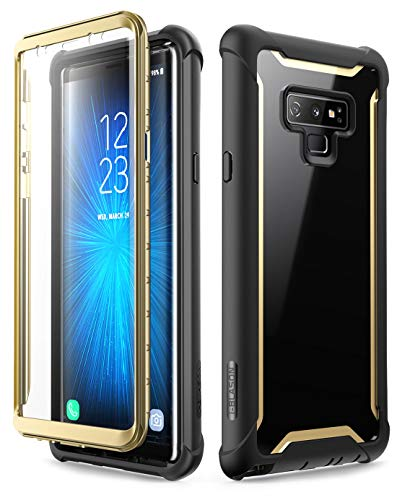 i-Blason Samsung Galaxy Note 9 Case,Funda Cuerpo Completo para Samsung Galaxy Note 9 [Serie Ares] con Protector de Pantalla. 2018. (Negro/Azul)