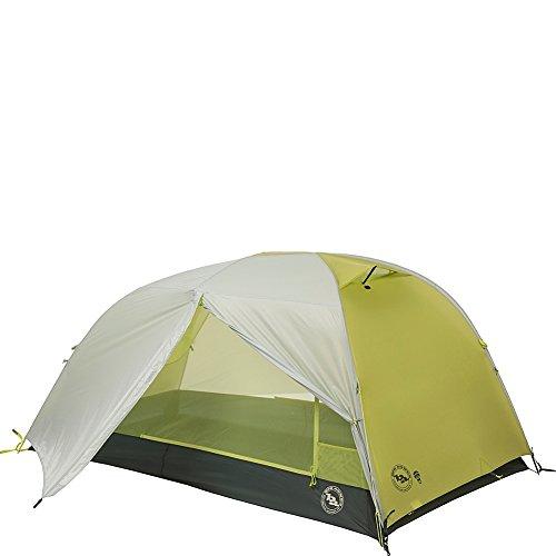 Big Agnes Manzanares HV SL mtnGLO Backpacking Tent, Gray/Green, 2P
