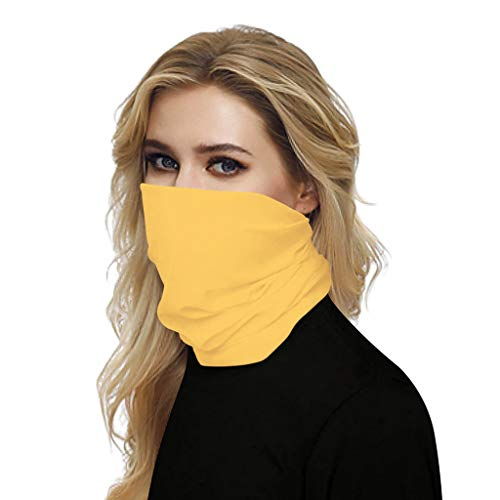Briskorry Face Shield Cover Bandana Halstuch Mundschutz Multifunktionstuch Staubdicht UV-Schutz Atmungsakti Sommer