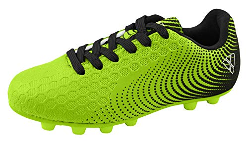 Vizari unisex child Stealth Fg Green/Black Size 1.5 Soccer...